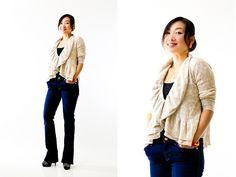 Rebecca Taylor Leopard Sweater, Seven Jeans