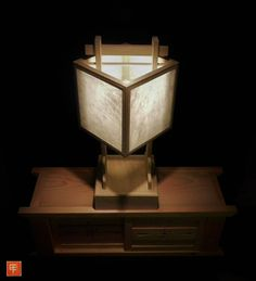 Custom andon lantern. #andon #lighting #lamp #lantern #nightlight