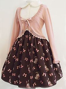 Want!  See all the bunnies all over the skirt?  How awesome is that!