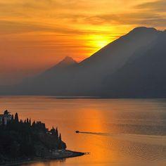 Malcesine Garda Lake by francomottironi