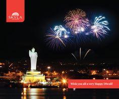 Wish you all a very Happy Diwali!