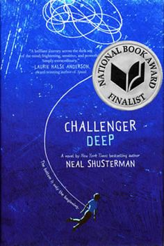 Neal Shusterman won the Young People's Literature award for Challenger Deep. | Here Are The 2015 National Book Awards Winners