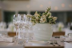 Photo collection by Jani B Photography All White Wedding, Reception, Table Decorations, Green, Home Decor, Homemade Home Decor, Receptions, Decoration Home, Dinner Table Decorations