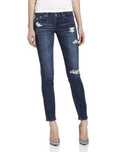 AG WOMENS JEANS STILT CIGRETTE DESTROYED IN DARK WASH HIGH end women's designer AG jeans, Adriano Goldschmied, at LOW end prices! On sale now, you want 'em, we've got 'em! We are the one stop shop for fashion designer deals.  Shop our store at: http://stores.ebay.com/realcoutureoforangecounty/