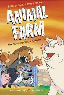 "Animal Farm (1954) - A movie based on the Russian Revolution. ""A successful farmyard revolution by the resident animals vs. the farmer goes horribly wrong when corrupt pigs hijack it for their personal gain."""
