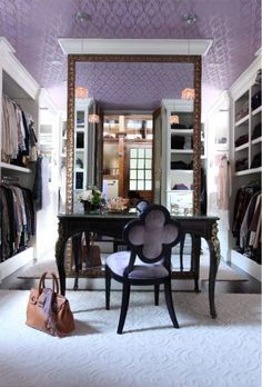 My dream closet looks just like this.