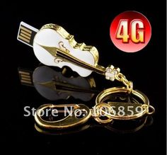 Jewelry Violin USB