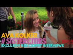 "Interview with Ava Kolker at Lifetime's ""Sister Cities"" Premiere #SisterCities"