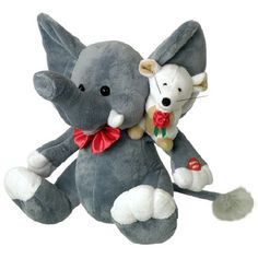 Forget-Me-Not-Duet Elephant & Mouse