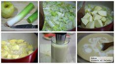 vichysoisse-manzana-paso-a-paso Empanadas, Eat, Soup Recipes, Cook, Empanada