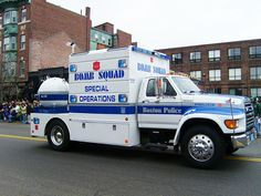 Boston, MA Police - Bomb Squad special ops