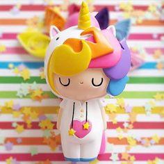Little Starlight Girl is back in stock! Thanks for the photo @m_neslihan_m #momijidolls #littlestarlightgirl #spreadthelove #unicorns #rainbows