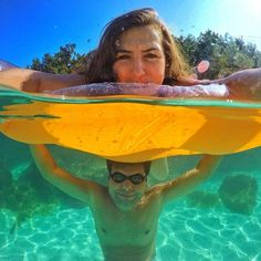 See 31 stunning half underwater GoPro photos. Plus, get 6 tips for shooting your own great half underwater photos with a GoPro and dome port. Gopro Underwater, Ocean Underwater, Underwater Pictures, Pool Photography, Underwater Photography, Levitation Photography, Photography Couples, Exposure Photography, Inspiring Photography