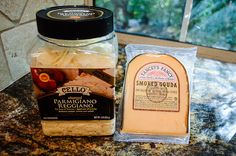 Costco cheese to try:  Cello Shaved Parmigiano Reggiano (1 pound) – $13.99 Yancey's Fancy Smoked Gouda (big hunk) – $7.35