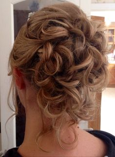 Wedding x guest x hairup x curls x smooth x updo x blonde x bride x work x