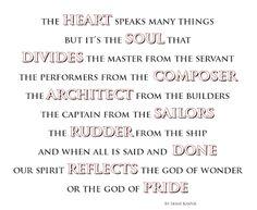 ~The Heart~ By Ernie Kasper #thinkingoutloud   #randomthoughtsofaservant   #soul   #heart   #intentions   #God   #quote