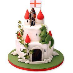 St George Castle Cake