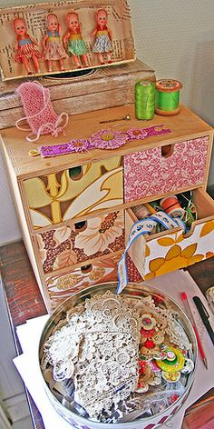 I already have this drawer unit from Ikea - new ideas to decorate it!
