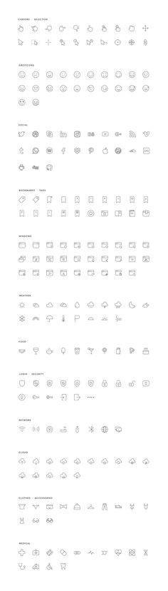 A set of 600+ icons crafted, refined, and easy to use in your web, Android, and iOS projects. ONE is a delightful icon set divided into 27 categories, with 8 different file formats included: Ai, Sketch, SVG, Photoshop, EPS, PNG, Font & Iconjar. In short, all file formats needed for your projects!