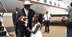 Martha Leah Nangalama: #Museveni in #AUKigali2016 Rwanda