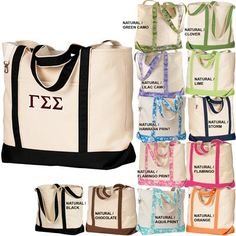 Gamma Sigma Sigma Sorority Beach Bag $22.95