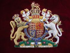 Coat of Arms - British Royal Family