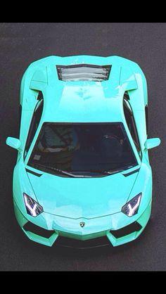 Aqua Lamborghini