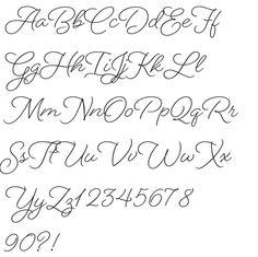 Beloved Script Regular font preview