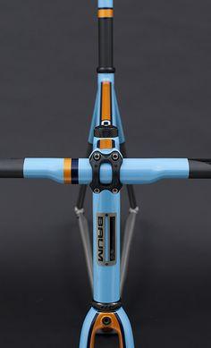GTX, Duck Egg Blue, Chrome Orange, Deep Crystal Blue, Corretto   by Baum Cycles