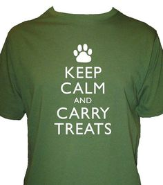 Keep calm and cary treats