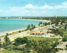 Praia de Pajuçara-Maceió anos 70