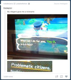 Oh Animal Crossing