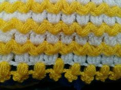 Discover thousands of images about Two-color ribs (columns) of crochet post-puff stitches. Crotchet Stitches, Puff Stitch Crochet, Filet Crochet, Hobbies And Crafts, Diy And Crafts, Teapot Cover, Learn How To Knit, Yarn Shop, Easy Crochet Patterns