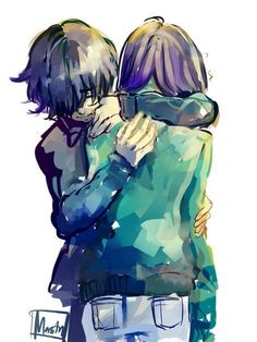 Ayato / Touka I know They are brother/sister But they are friends too❤️