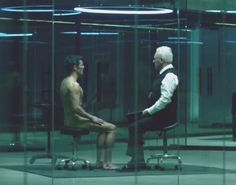 James Marsden (with Sir Anthony Hopkins), from Season 1 Episode 3 of HBO series Westworld
