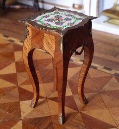 Miniature Dollhouse Artisan John Masterman repro Louis XV Side Table 1:12 | Dolls & Bears, Dollhouse Miniatures, Artist Offerings | eBay!