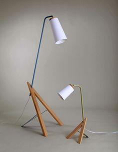 Vi lamp series by Linda Falang Design and Ane Domaas: