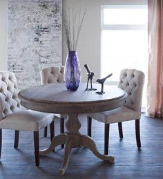 Windsor dining table - Urban Barn $899