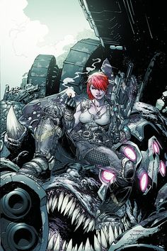 Gears of War #9 by Jim Lee and Scott Williams