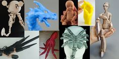 Weekly Roundup: Ten 3D Printable Things – The Coolest Articulated Action Figures & Models | 3DPrint.com