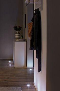 SLVStix Wandleuchte Aluminium Diele LED Schlafzimmer weiss