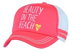Life is better at the beach, so be the beauty on the beach with the Roxy Dig This Trucker Hat! A c......Price - $24.00 LOVE
