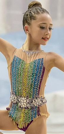 Rhythmic gymnastics leotard (photo by E.Matveev)