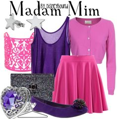 """Madam Mim is WITHOUT FAIL one of my favorite villains of all time.  """"Wanna fight?  Wanna have a wizards duel?"""""""