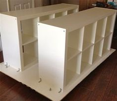 IKEA Hackers: Quilters Table with storage