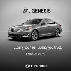 The 2012 Hyundai Genesis