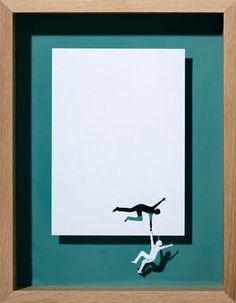 20 esculturas recortadas de una sencilla pieza de papel