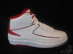Vtg OG 2014 Nike Air Jordan II 2 s sz 6y VI Retro He Got Game White Red Randy DS #Jordan #Athletic  #tcpkickz