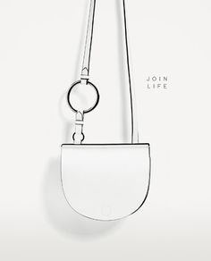 Image 2 of JOIN LIFE OVAL CROSSBODY BAG WITH RING DETAIL from Zara