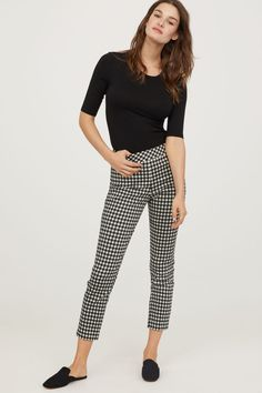 Pantalon carreaux outfit
